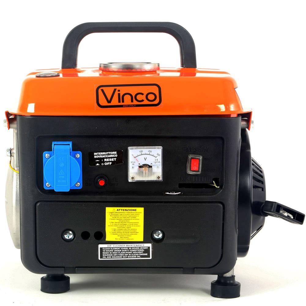 Generatore di corrente 0 7 kw miscela vinco bdl 1200 12v for Generatore di corrente honda usato
